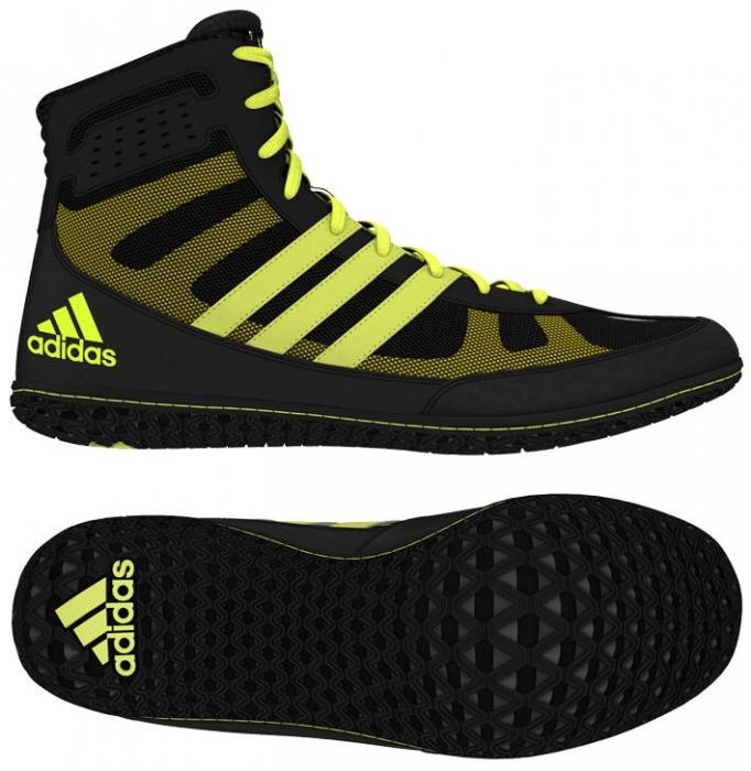 Obuv zápasnícka adidas MAT WIZARD.3 čierno-žlté (S77969) 2c6598e900