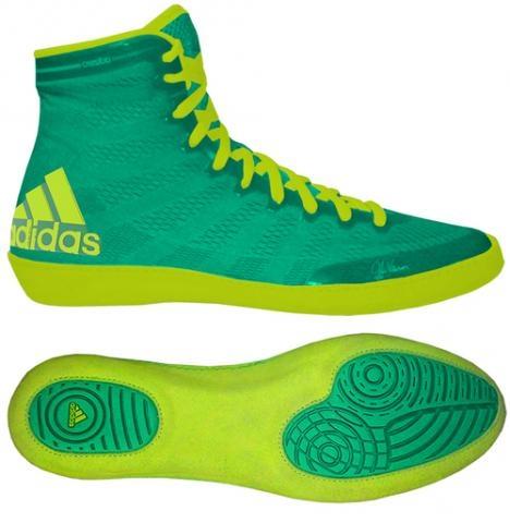 Obuv zápasnícka adidas ADIZERO WRESTLING XIV zeleno-žlté (S77932) d76d4ebcbeb