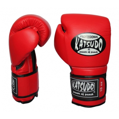 ee324e8730a Box rukavice Katsudo PROFESIONÁL II červené