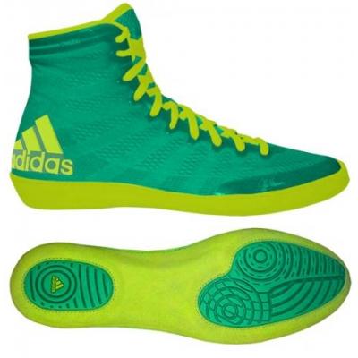 Obuv zápasnícka adidas ADIZERO WRESTLING XIV zeleno-žlté (S77932) d8fa381e160